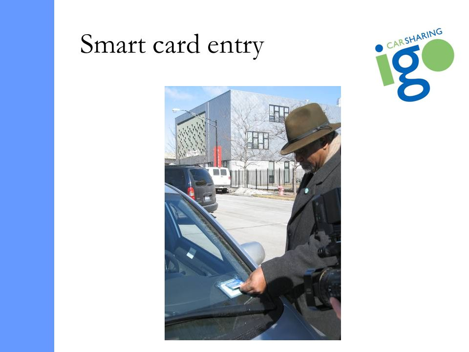 Smart card entry