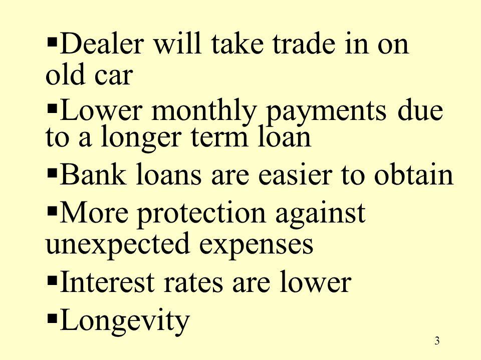 14 How do I buy a new car?