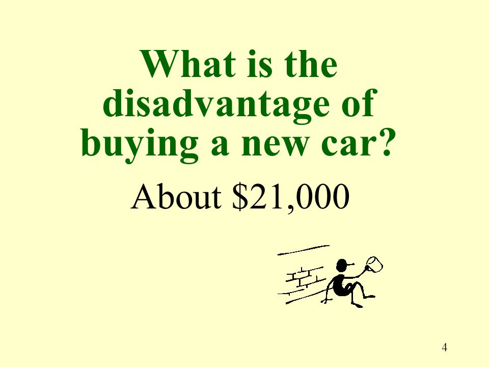 5 About 50% in two years How much do new cars depreciate?