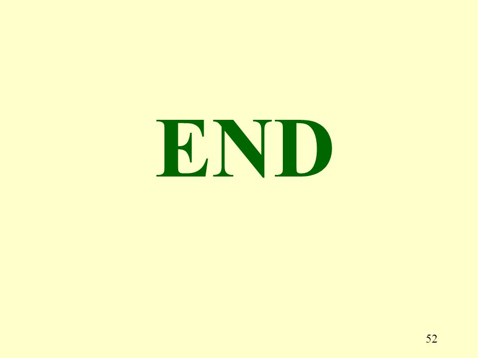 52 END