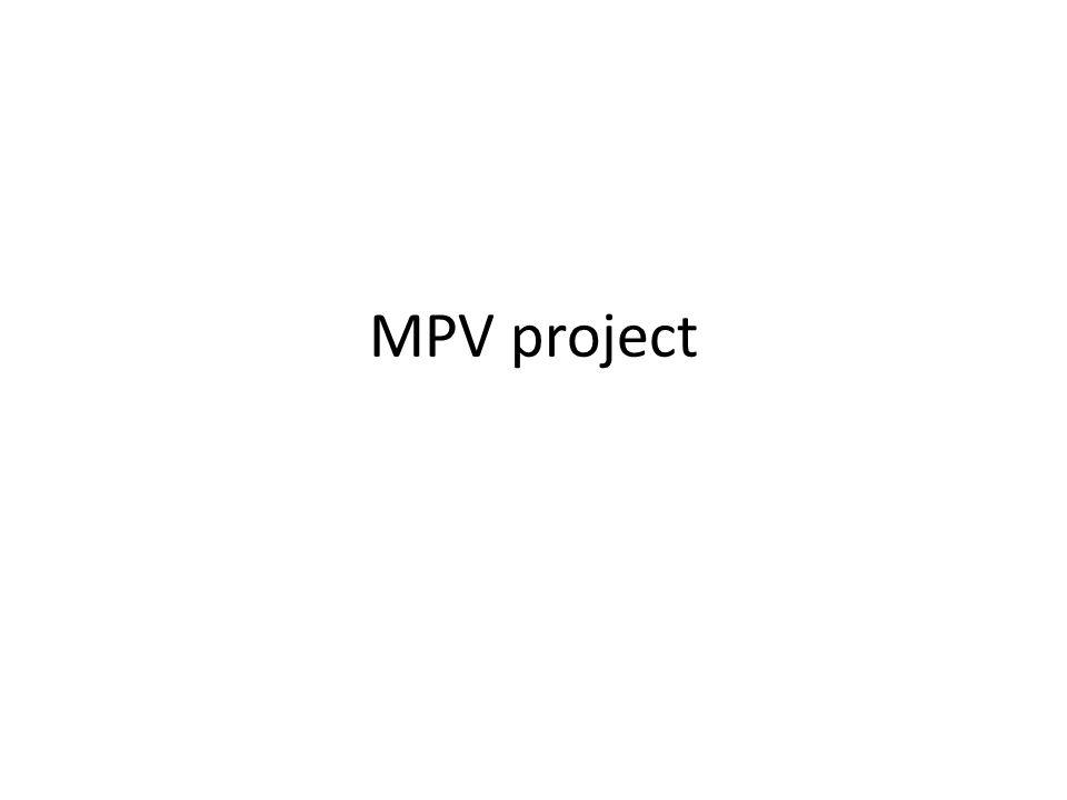 MPV project