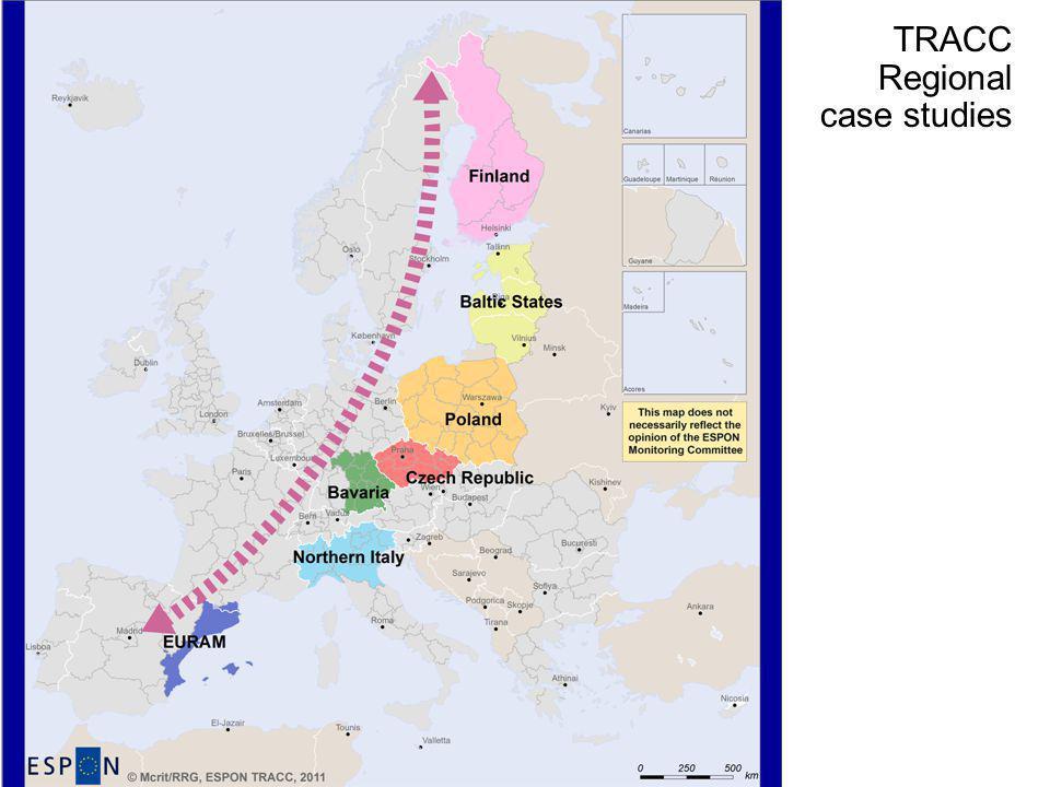 TRACC Regional case studies