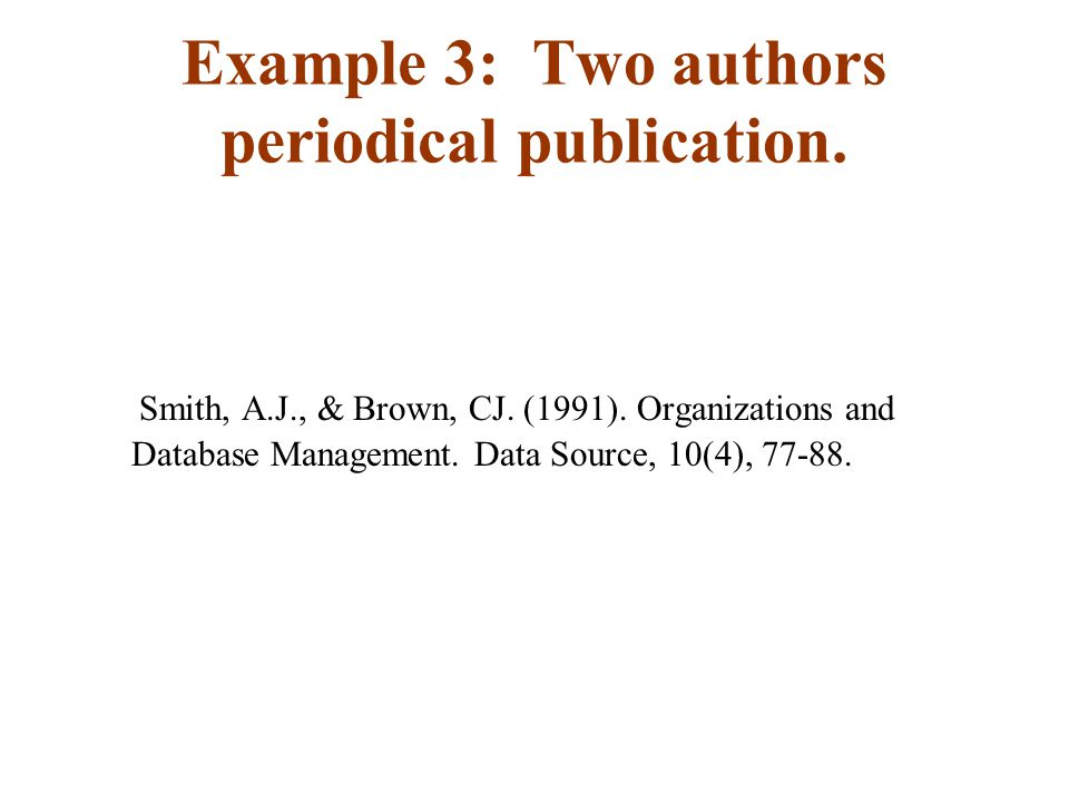 Example 4:Multiple Authors periodical publication Chin, K.S., et al.(2004).