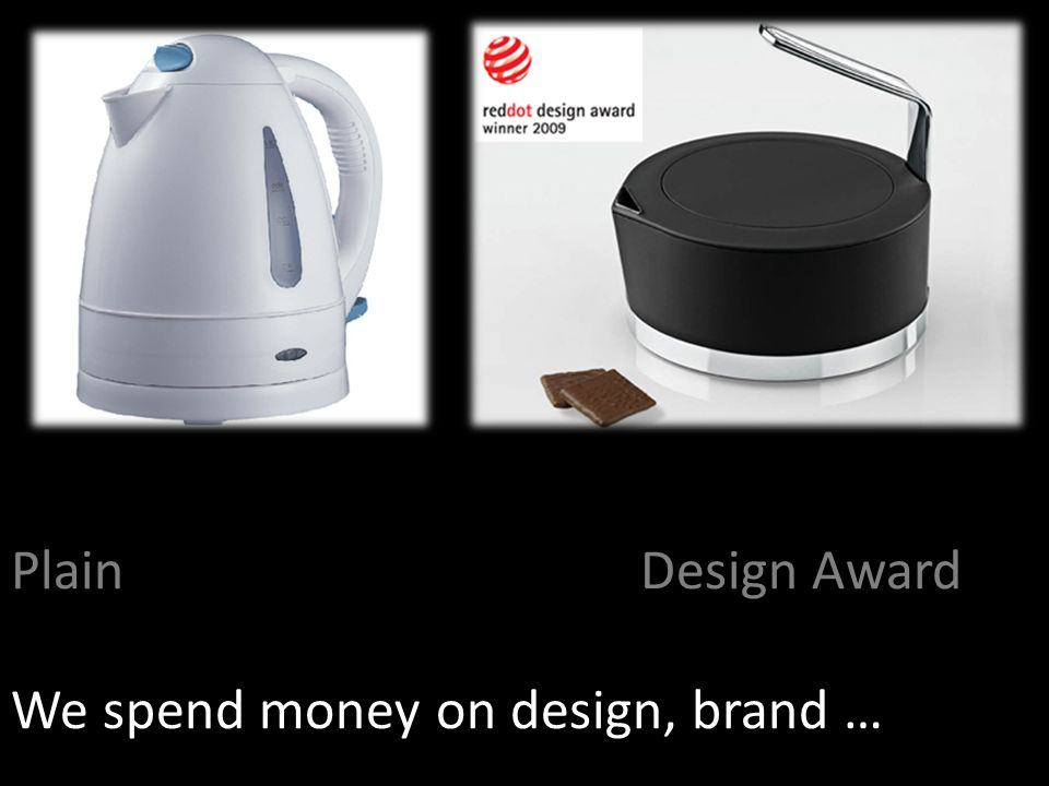 PlainDesign Award We spend money on design, brand …