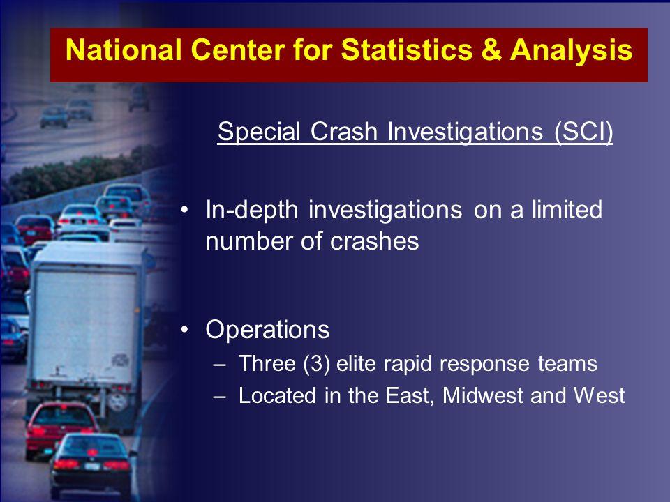 Vehicles Involved in Fatal Crashes, 1994-2004 Passenger CarsLight TrucksLarge TrucksMotorcycles 9