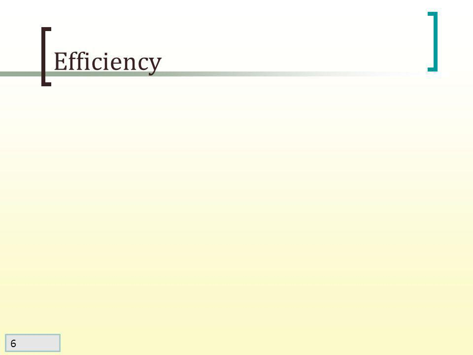 6 Efficiency