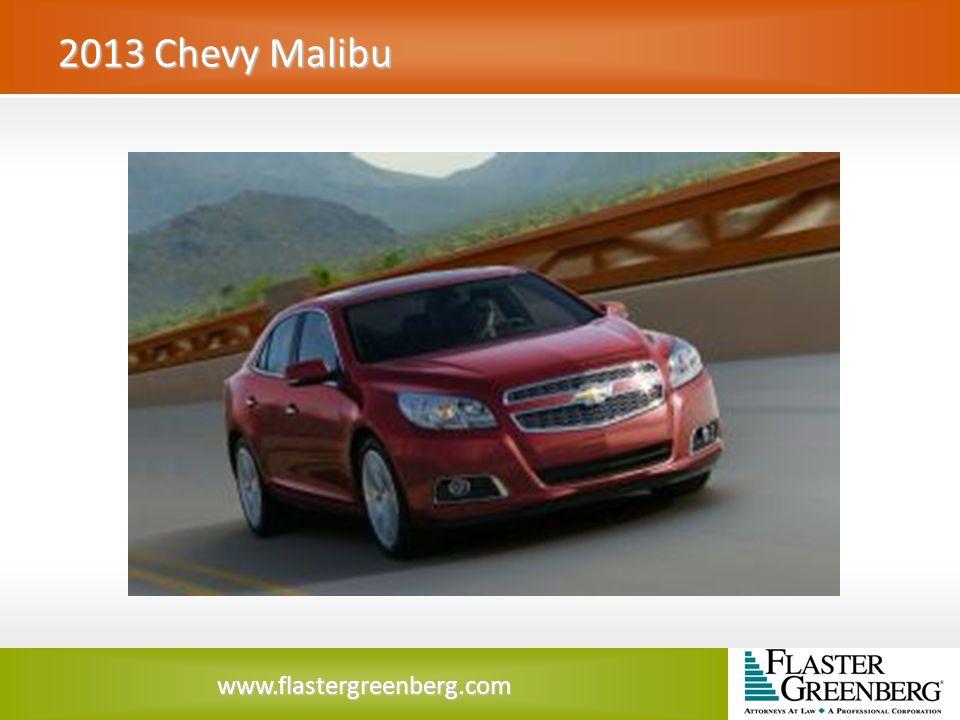 www.flastergreenberg.com 2013 Chevy Malibu