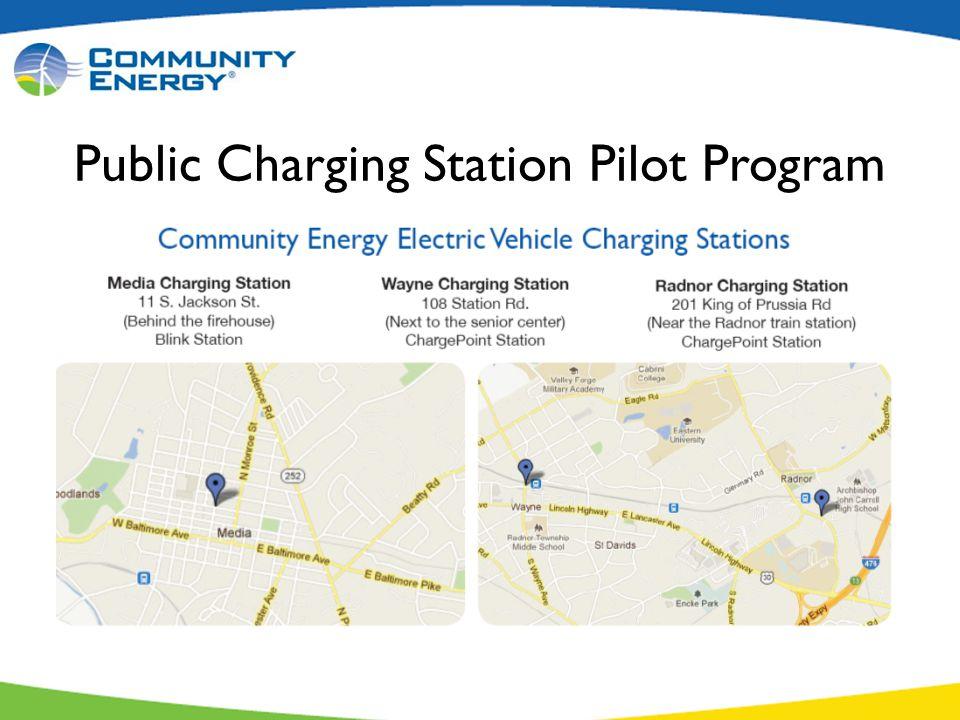 Public Charging Station Pilot Program