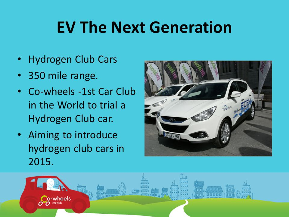 Hydrogen Roll Out Manufacturers agreement 2015 1.5 m H-cars -2030 U.K.