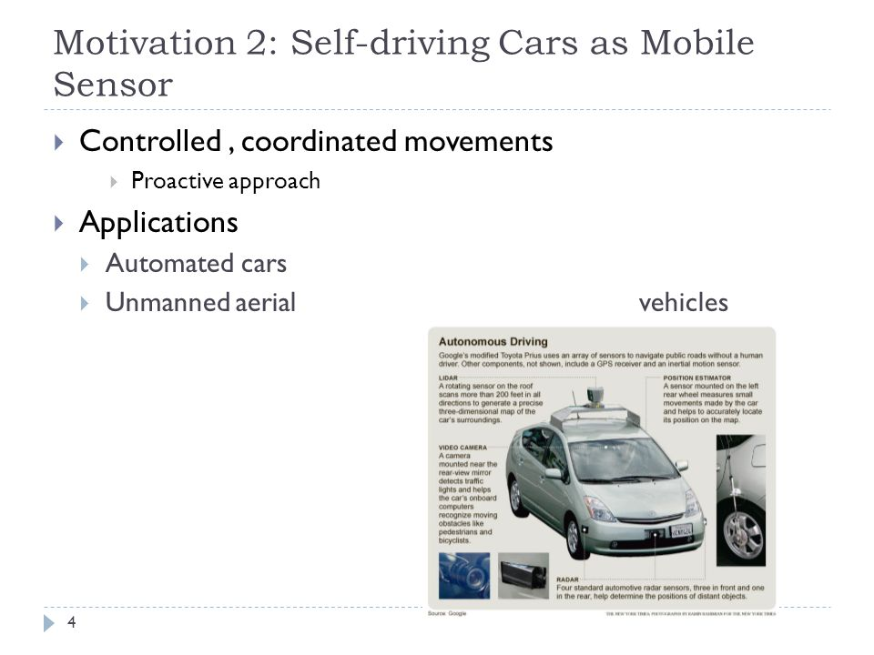 Motivation 3: Detecting Distracted/Risky Drivers 5