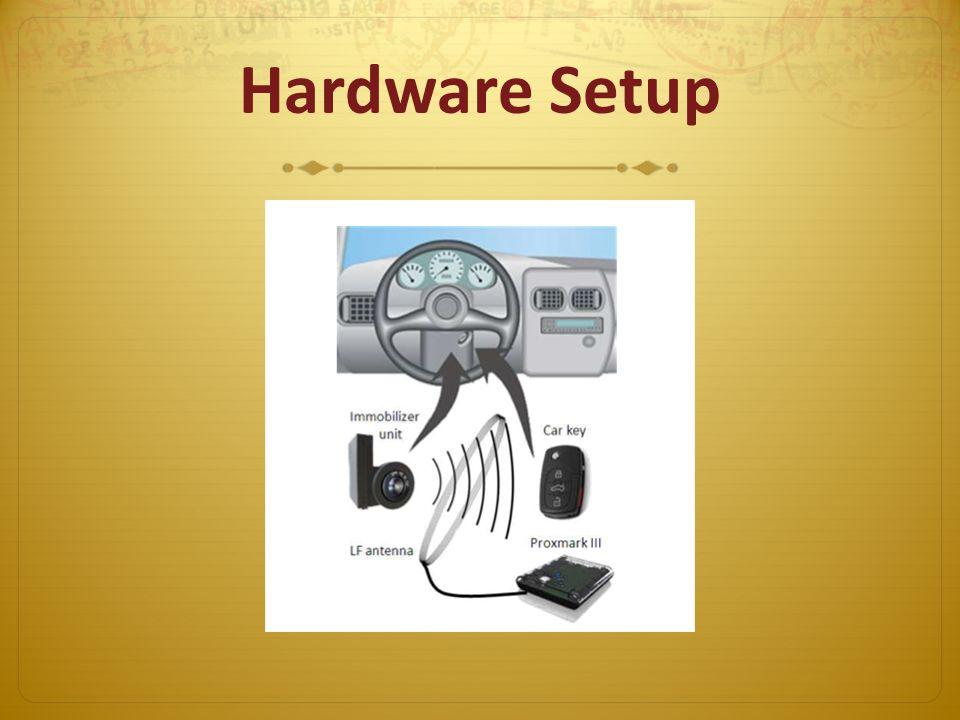 Hardware Setup