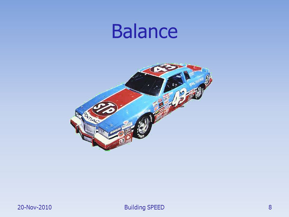 20-Nov-2010 Balance Building SPEED8