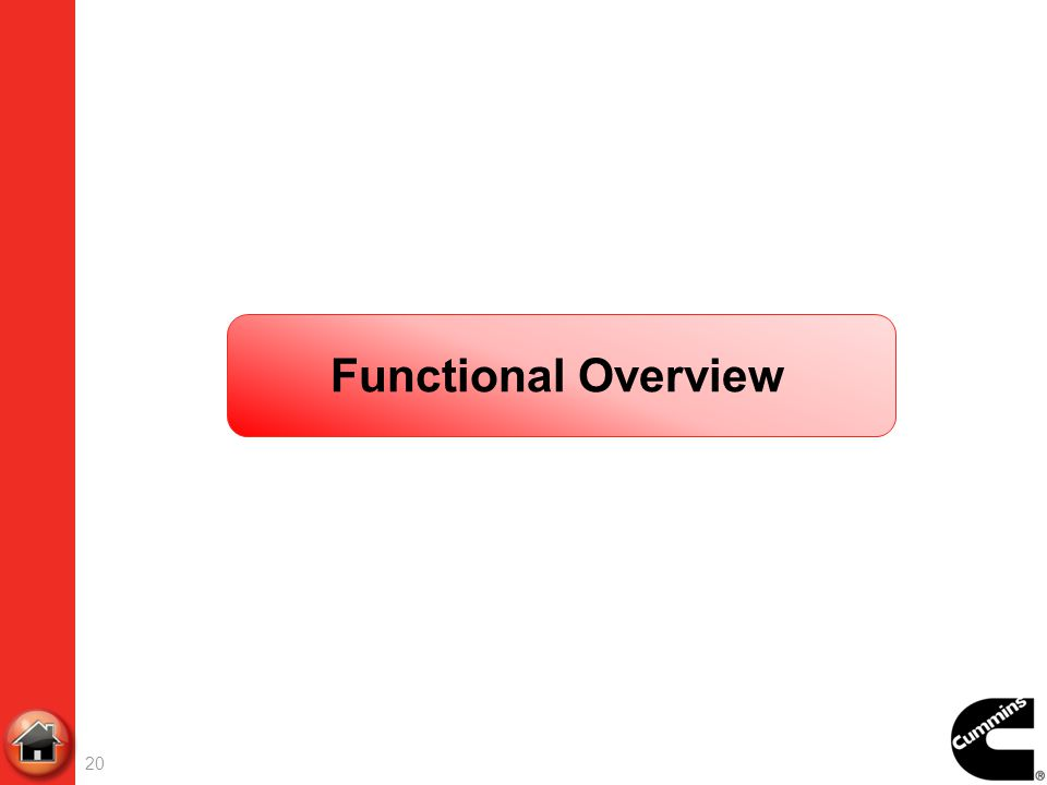 20 Functional Overview