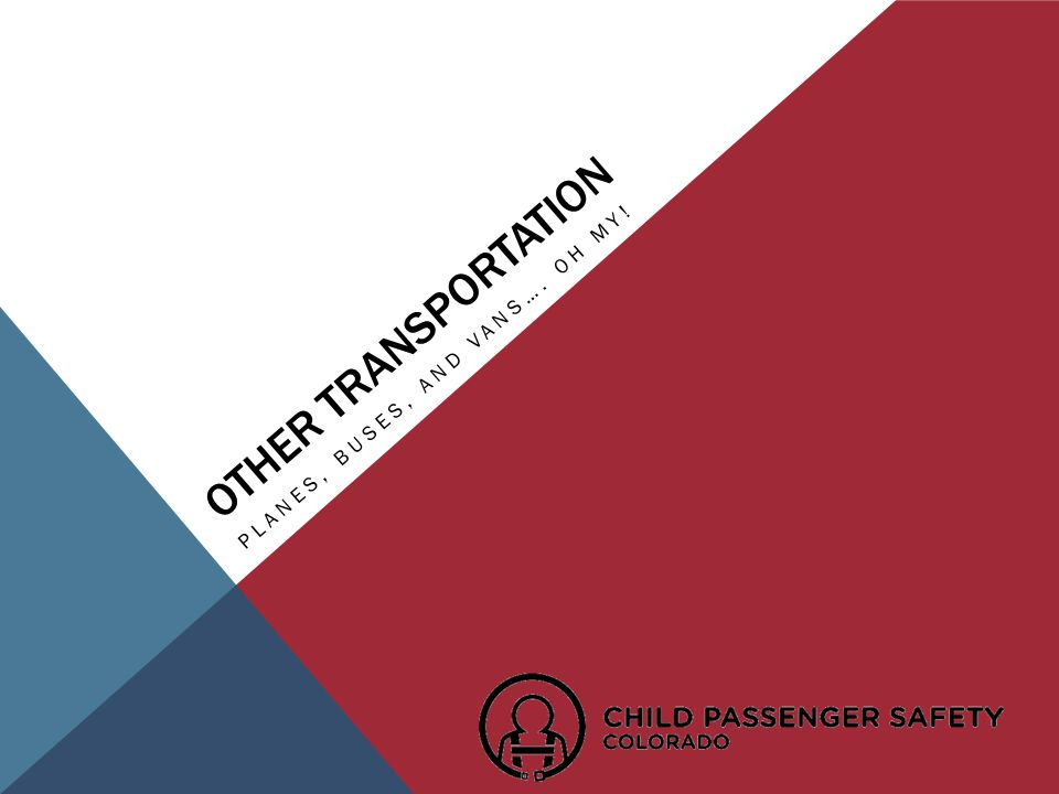 PLANES, BUSES, AND VANS…. OH MY! OTHER TRANSPORTATION