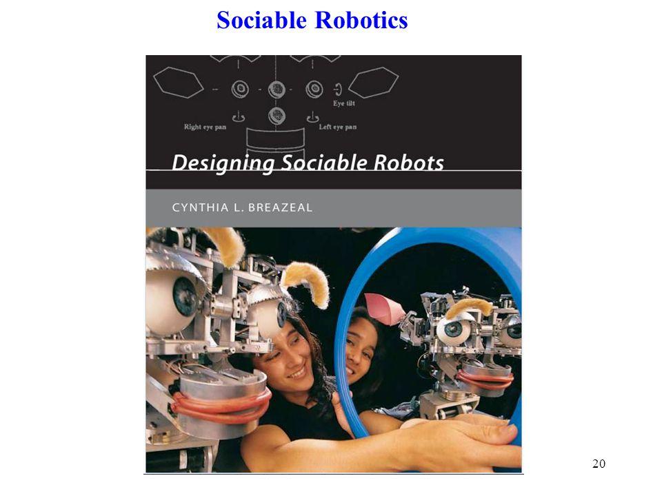 20 Sociable Robotics