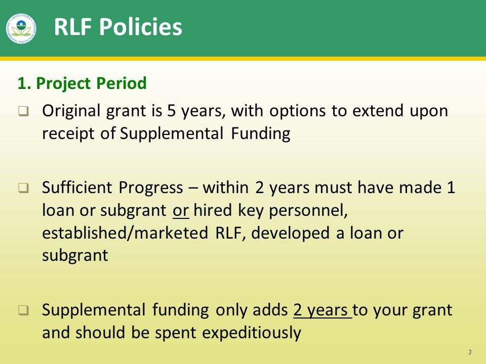 3 RLF Policies 1.
