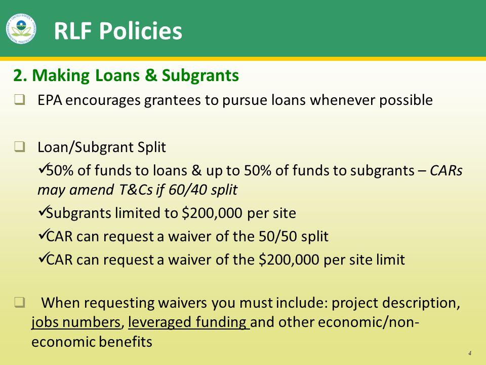4 RLF Policies 2.