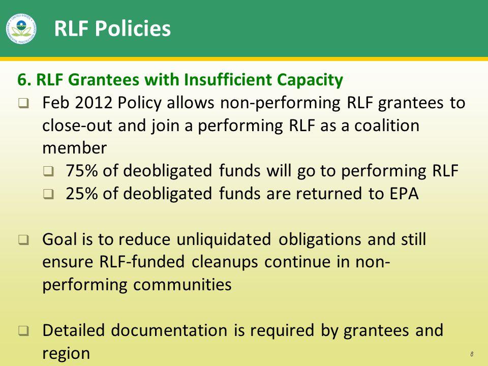 8 RLF Policies 6.