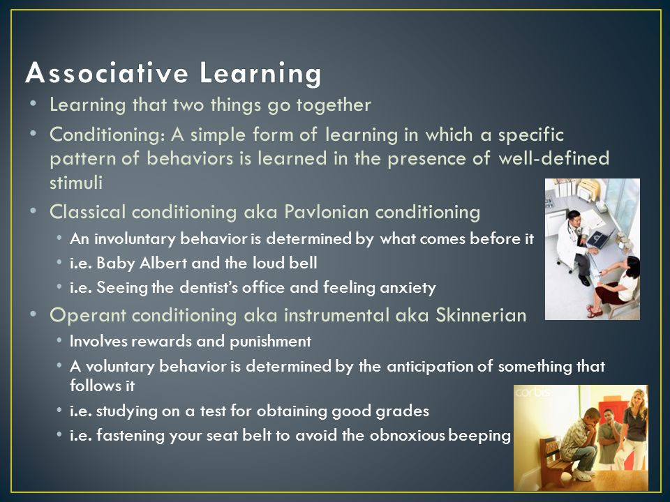 Learning sets/Learning to Learn refers to increasing effectiveness at problem solving through experience organisms learn how to learn Figuring out how to study best Trial and Error Learning Learn by your mistakes Class demonstration - Blind Maze - what happened?