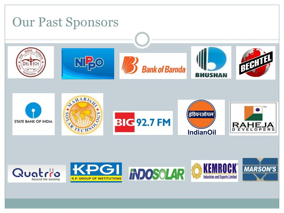 Our Past Sponsors
