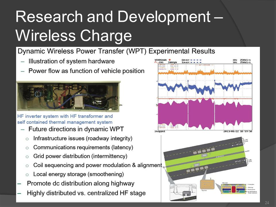 Research and Development – Wireless Charge 24