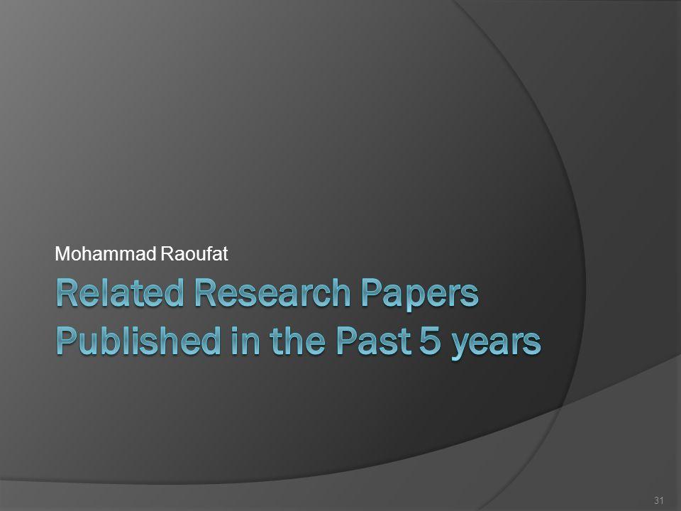 Mohammad Raoufat 31