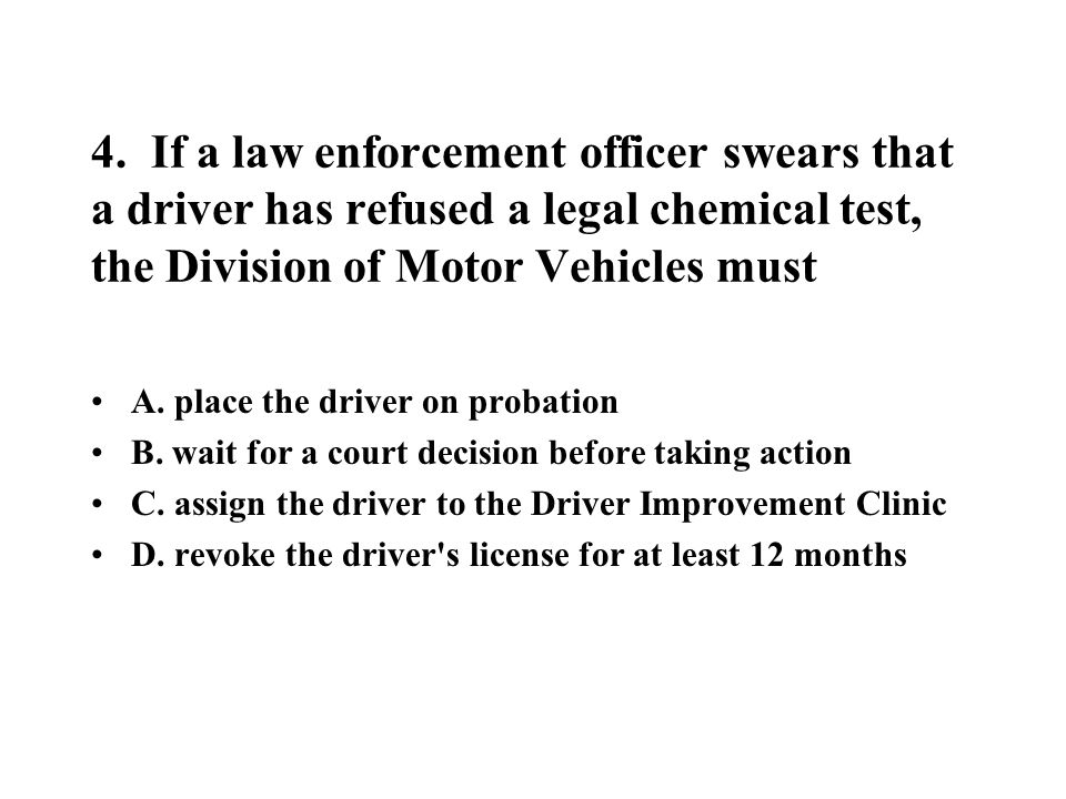 43.You are driving on an interstate highway when a breakdown forces you to the shoulder.