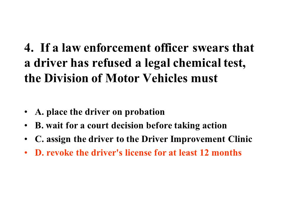 20.Very slow driving is especially dangerous in which of the following situations.