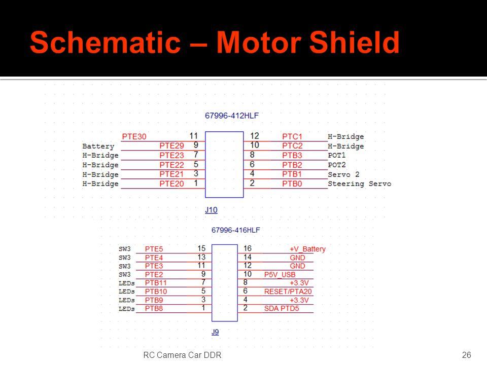 RC Camera Car DDR26