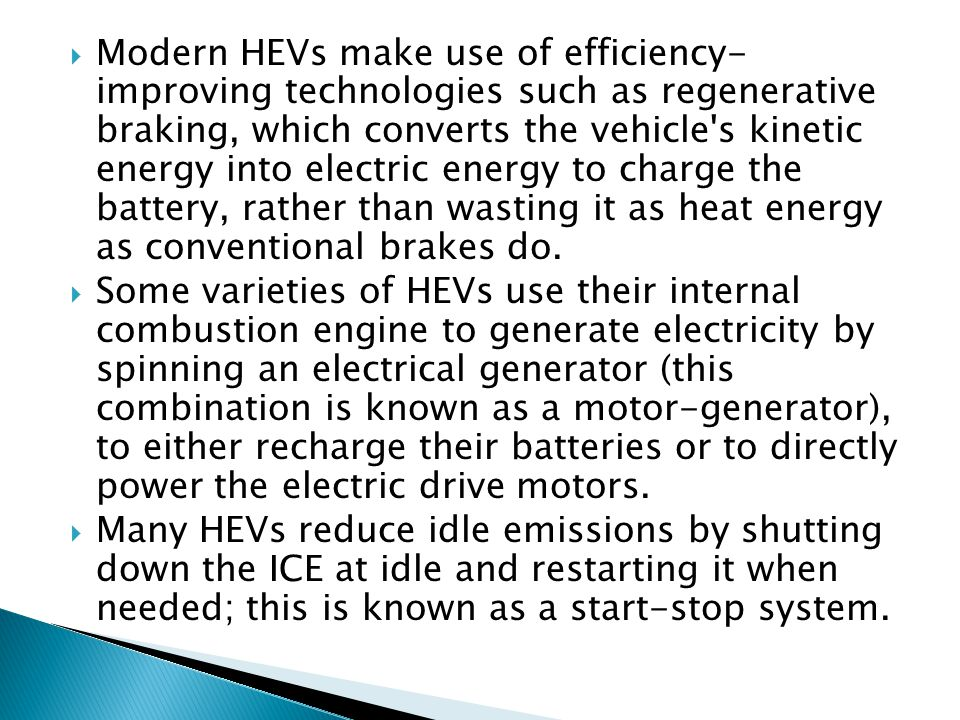 Motors are the work horses of Hybrid Electric Vehicle drive systems.