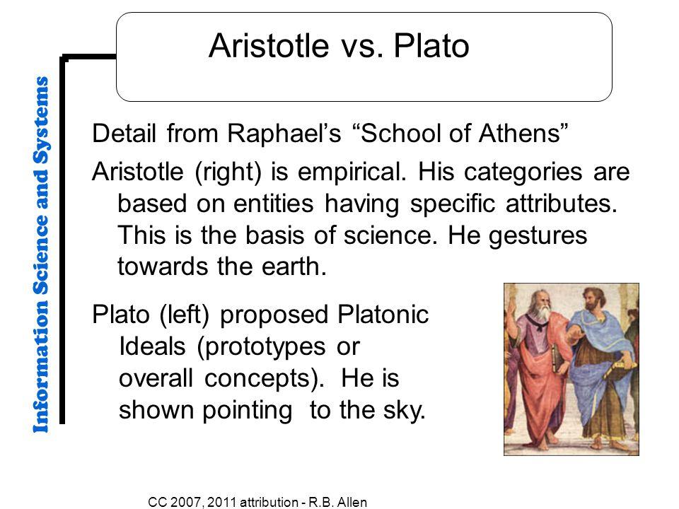 CC 2007, 2011 attribution - R.B. Allen Aristotle vs.