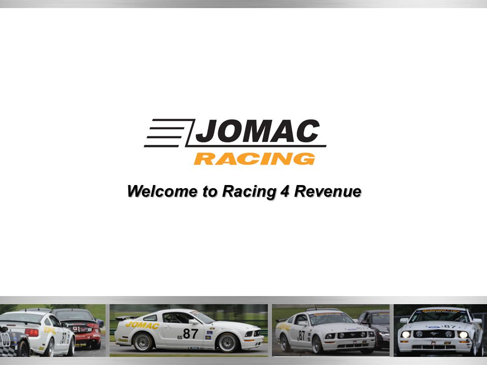 Welcome to Racing 4 Revenue