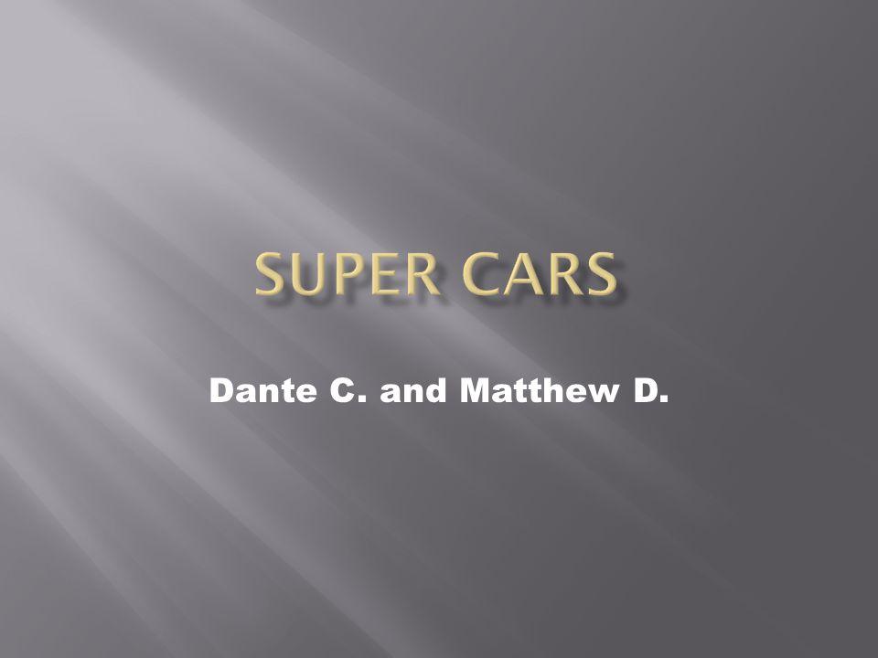 Dante C. and Matthew D.