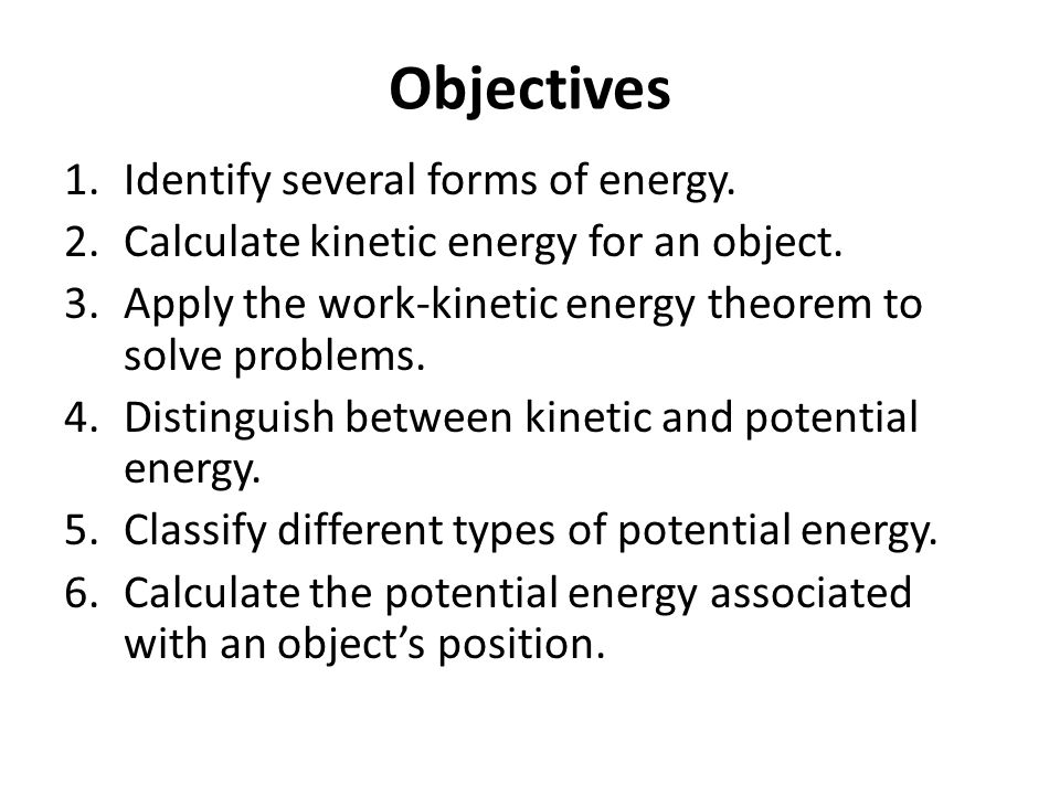 Elastic potential energy in a spring Elastic potential energy is the Work done on the spring.