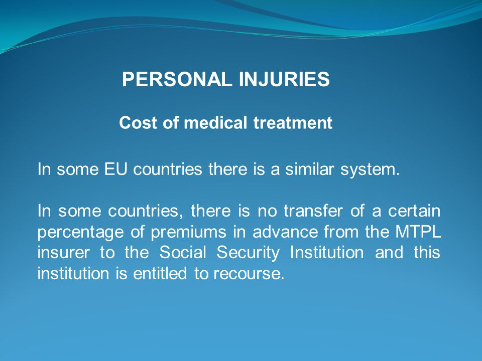 In some EU countries there is a similar system. In some countries, there is no transfer of a certain percentage of premiums in advance from the MTPL i