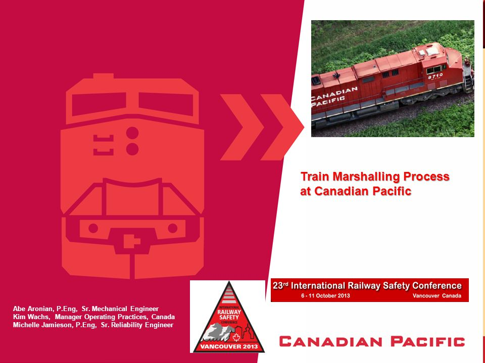 TRAIN MARSHALLING – WHY IS IT NEEDED.