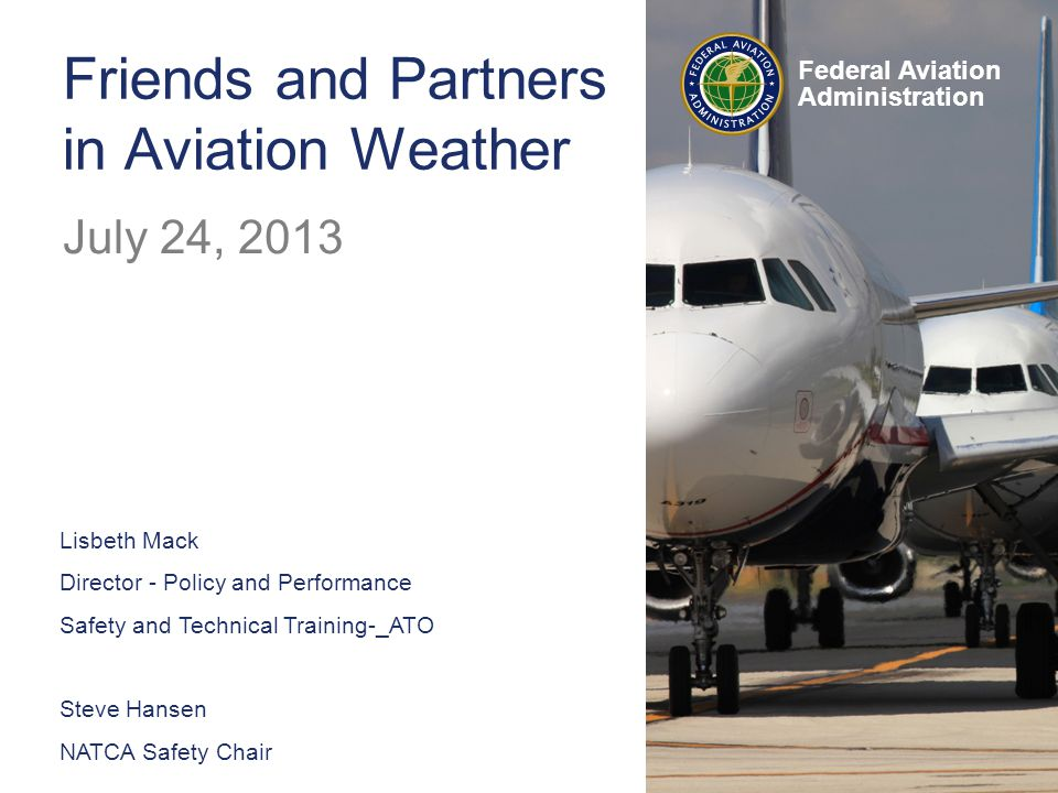 Federal Aviation Administration VSRPs are a key component to the ATO Safety Management System (SMS), providing a method to identify and correct potential safety hazards.