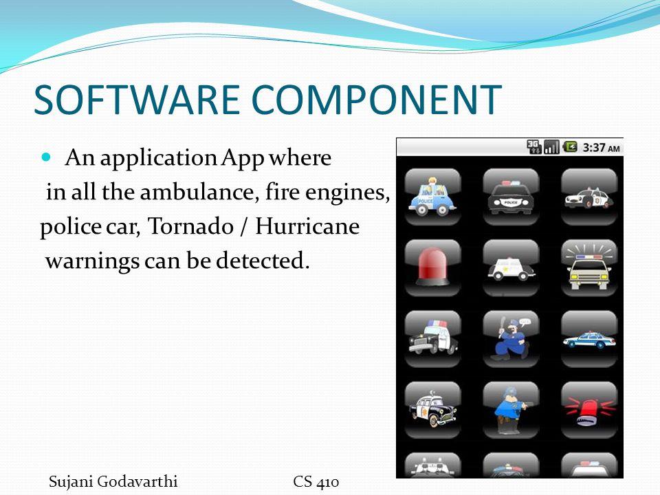 HARDWARE COMPONENT IPHONE (IOS) CS 410 Sujani Godavarthi September 19, 2011
