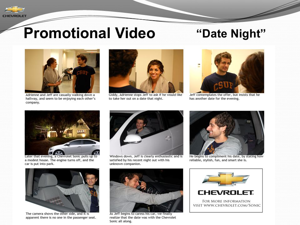 Promotional Video Date Night
