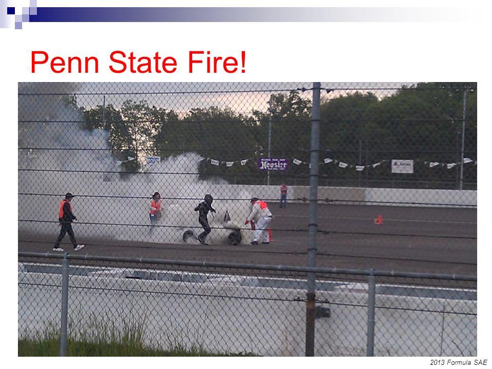 Penn State Fire! 2013 Formula SAE