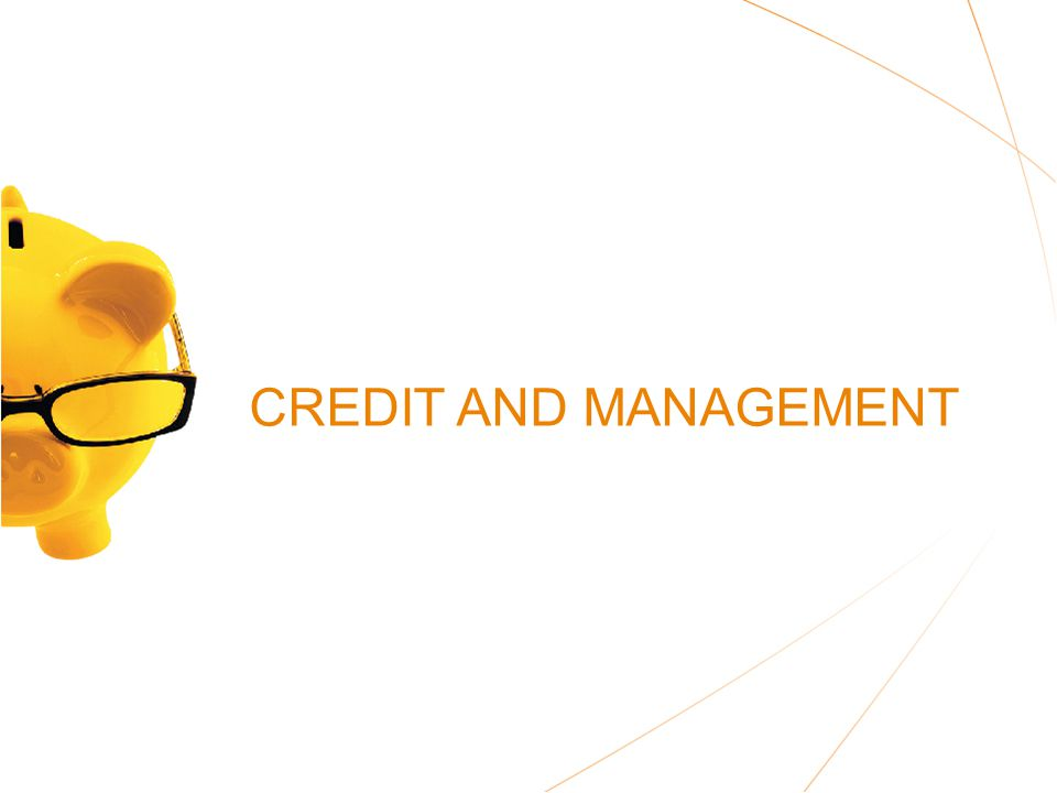 CREDIT AND MANAGEMENT