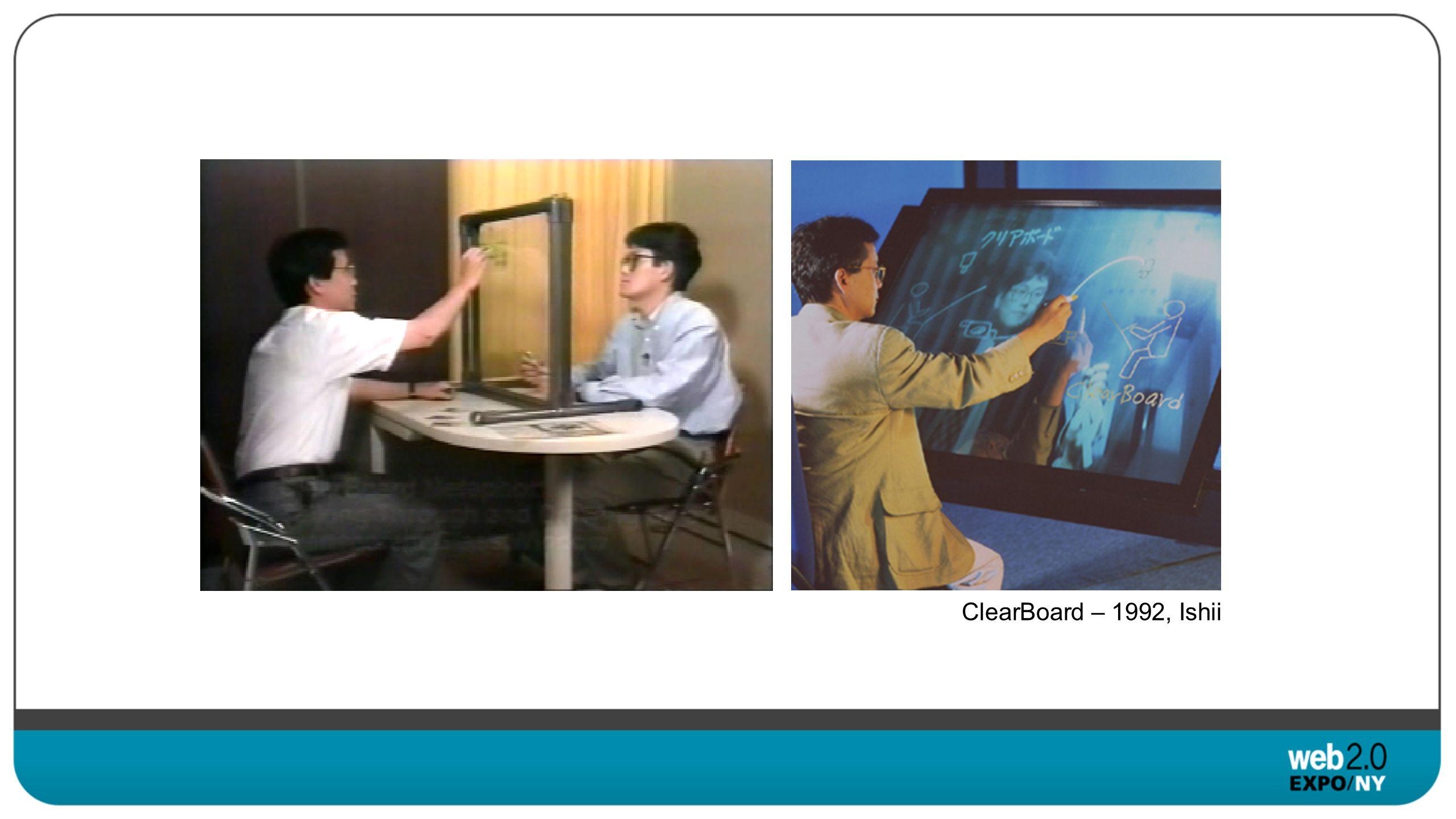 ClearBoard – 1992, Ishii