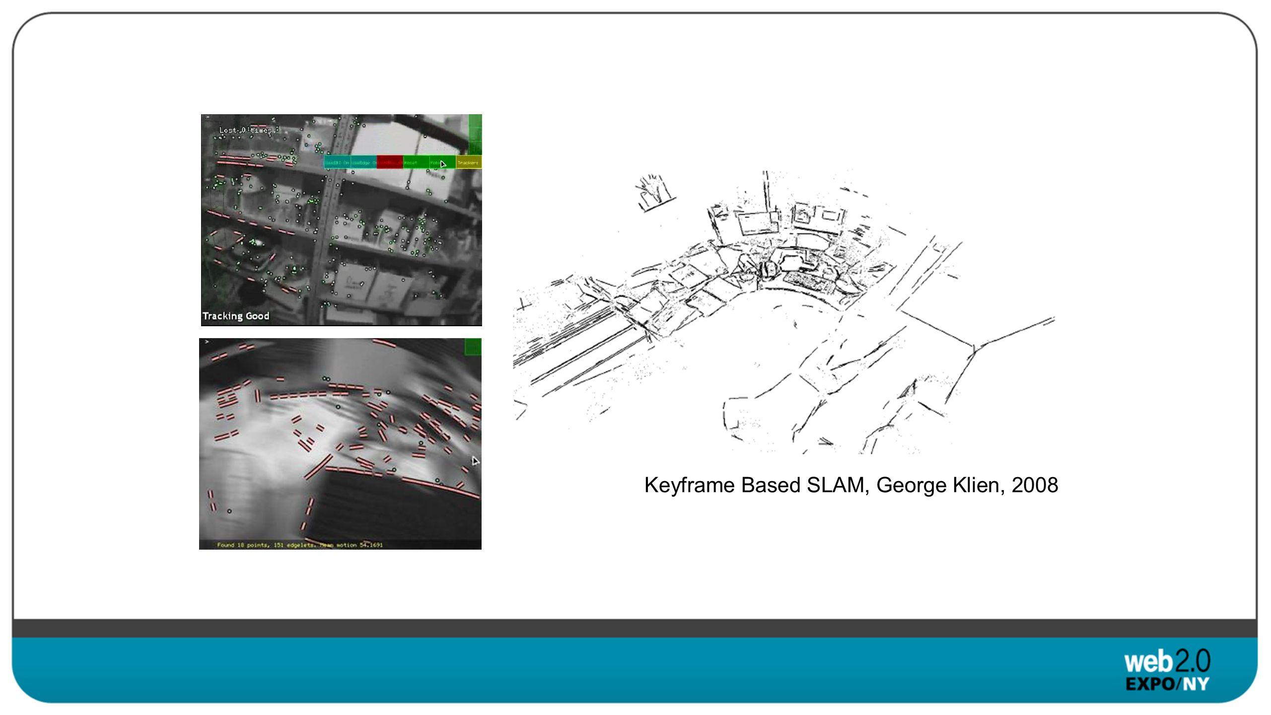 Keyframe Based SLAM, George Klien, 2008