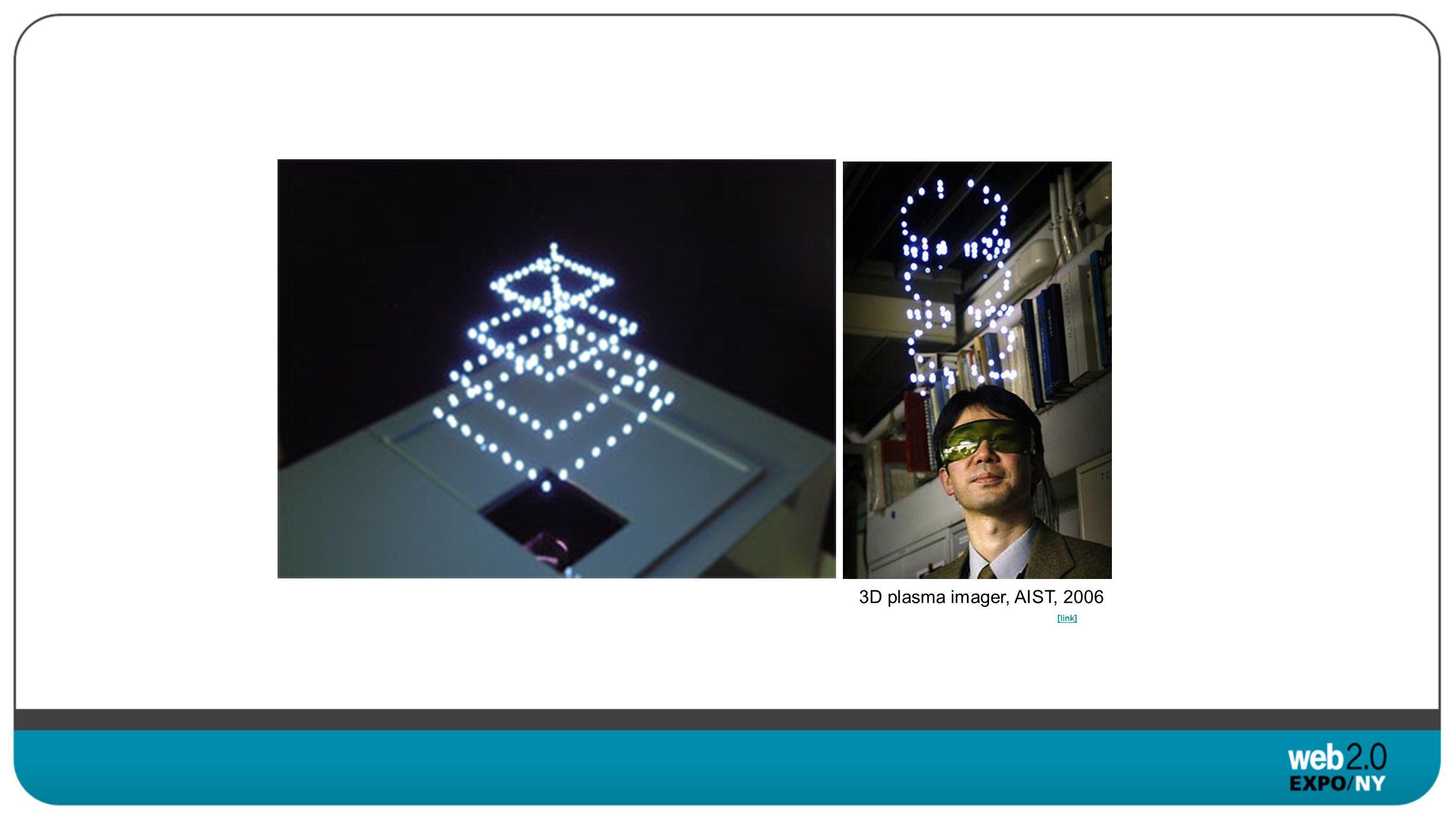 [link] 3D plasma imager, AIST, 2006