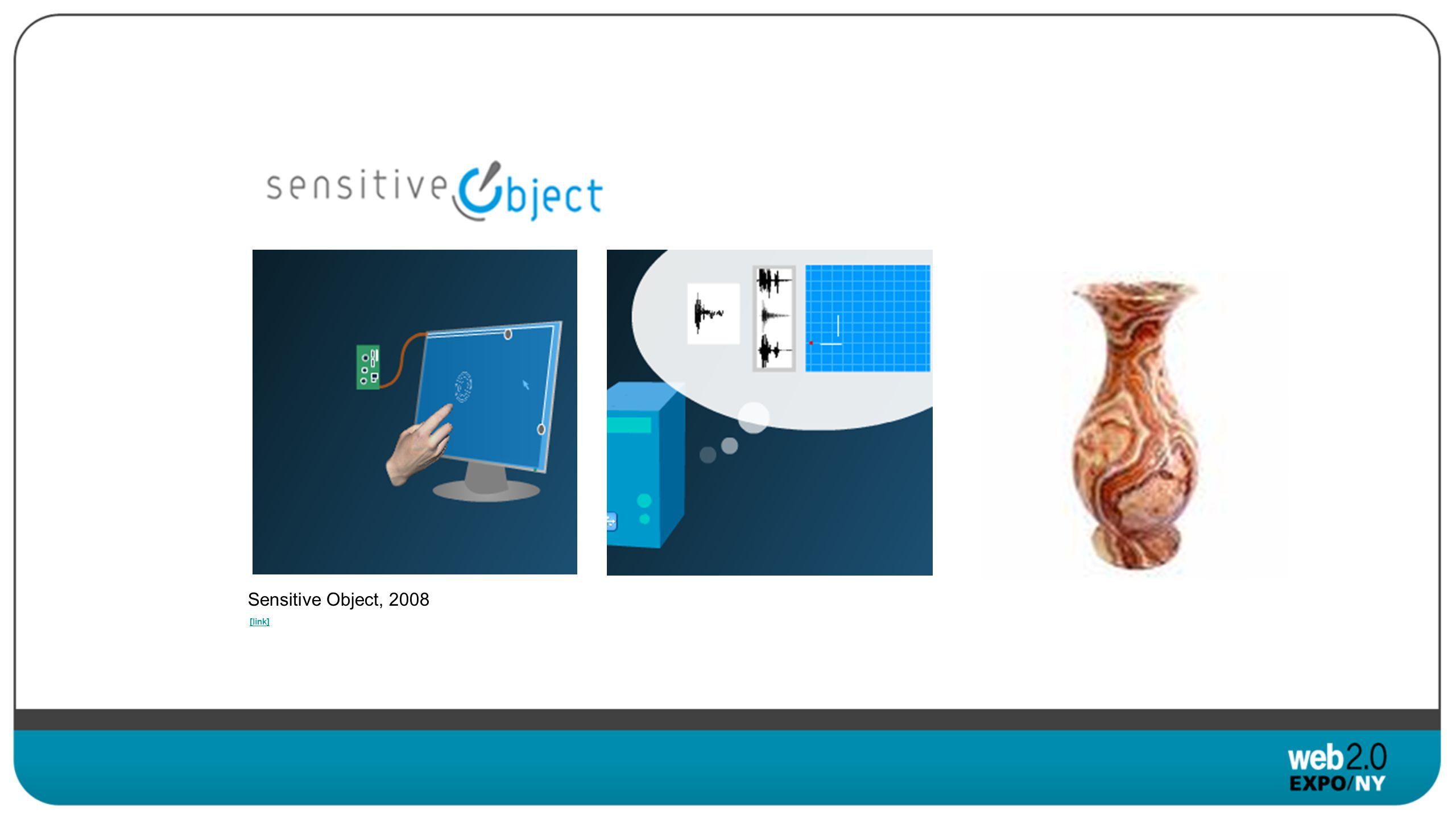 [link] Sensitive Object, 2008