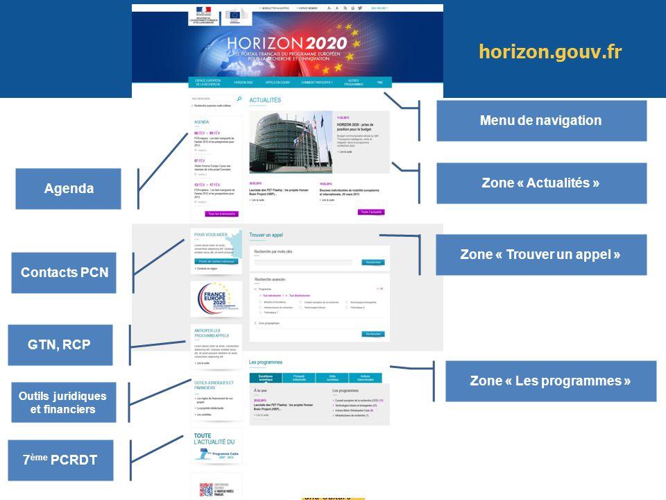 Education and Culture Agenda Contacts PCN GTN, RCP Menu de navigation Zone « Actualités » Zone « Trouver un appel » Zone « Les programmes » Outils jur