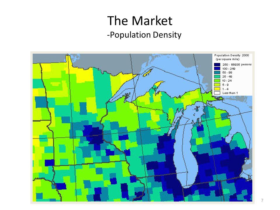 The Market -Population Density 7