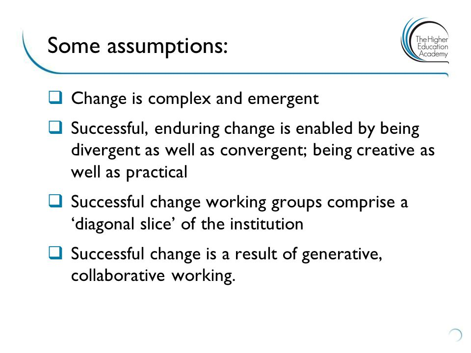 9 Levels and Forms of Change ALPHA LEVEL CHANGE: Gradual, incremental, planned approach to change that cumulate over a period of time which focuses on changes to particular arenas within the university BETA LEVEL CHANGE: Gradual, incremental emergent approach to change that develops over a period of time to cumulative and comprehensive change in the university GAMMA LEVEL CHANGE: Revolutionary, transformational and comprehensive planned attempt to create change across the whole university.