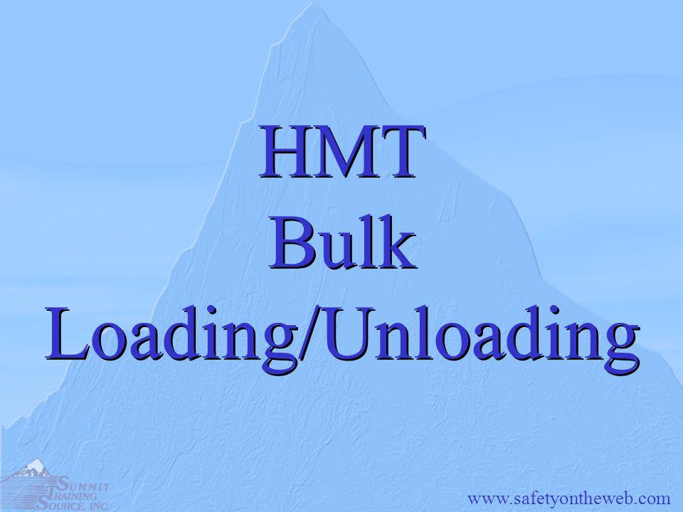 HMT Bulk Loading/Unloading