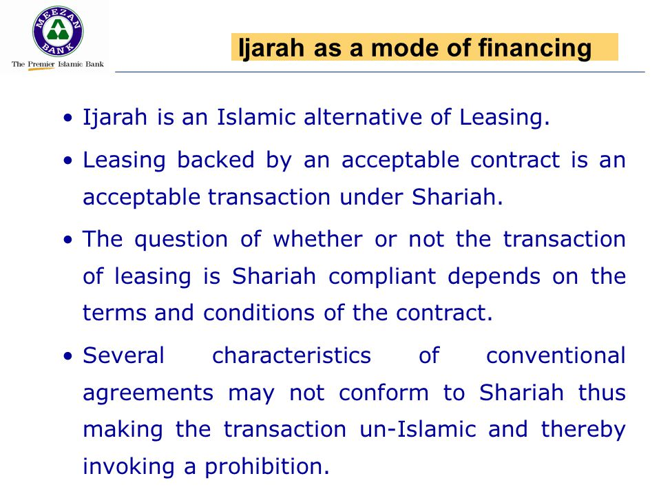 Ijarah is an Islamic alternative of Leasing. Leasing backed by an acceptable contract is an acceptable transaction under Shariah. The question of whet